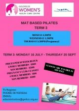 Mat Based Pilates Term 3
