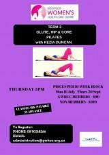 Glute/Hip & Core Pilates Term 3