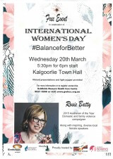 International Women's Day #BalanceforBetter