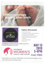 FREE Information Session - Physiotherapy Advice After Birth