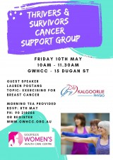Thrivers & Survivors Cancer Support Group
