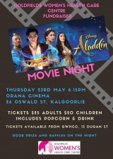 Aladdin Movie Night Fundraiser